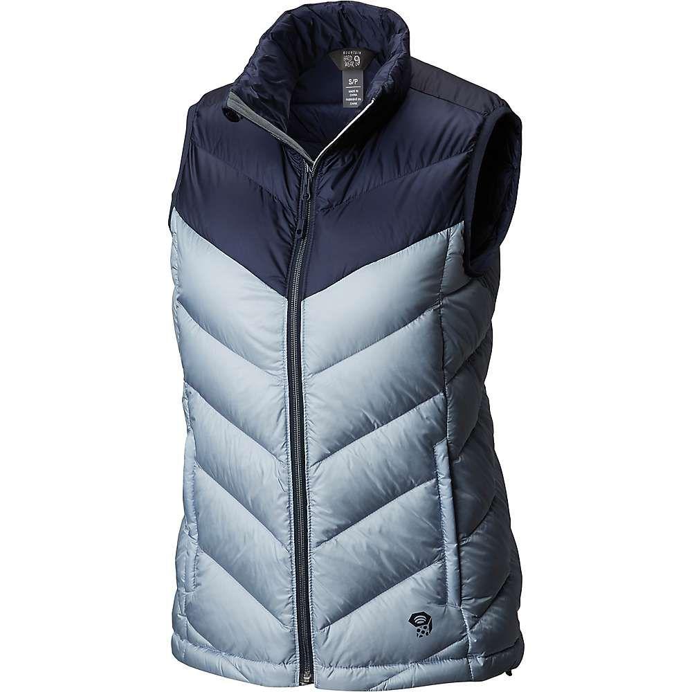 マウンテンハードウェア Mountain Hardwear レディース トップス ベスト・ジレ【Ratio Down Vest】Arctic Circle Blue