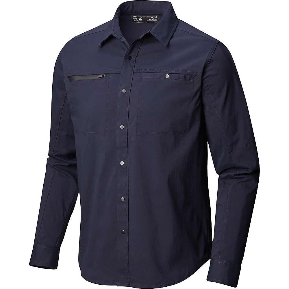 素晴らしい品質 マウンテンハードウェア AP Mountain Hardwear メンズ ハイキング・登山 メンズ トップス【Hardwear AP Hardwear Shirt】Dark Zinc, カーオーディオ通販 ネットワン:f2df0033 --- beauty100.xyz
