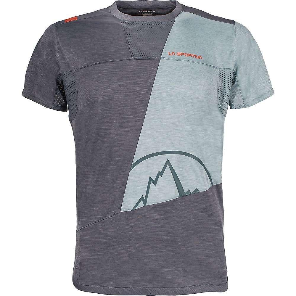 【格安SALEスタート】 ラスポルティバ Blue La/ Sportiva メンズ ハイキング・登山 トップス【Workout T-Shirt ラスポルティバ】Slate/ Stone Blue, サンデーズガーデン:040a6105 --- canoncity.azurewebsites.net