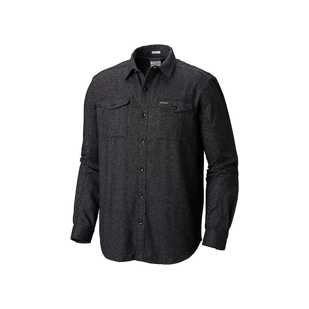 【即発送可能】 コロンビア Columbia メンズ Columbia ハイキング・登山 Shirt】Black トップス【Pilot Peak LS コロンビア Shirt】Black, ミノブチョウ:48006170 --- bibliahebraica.com.br