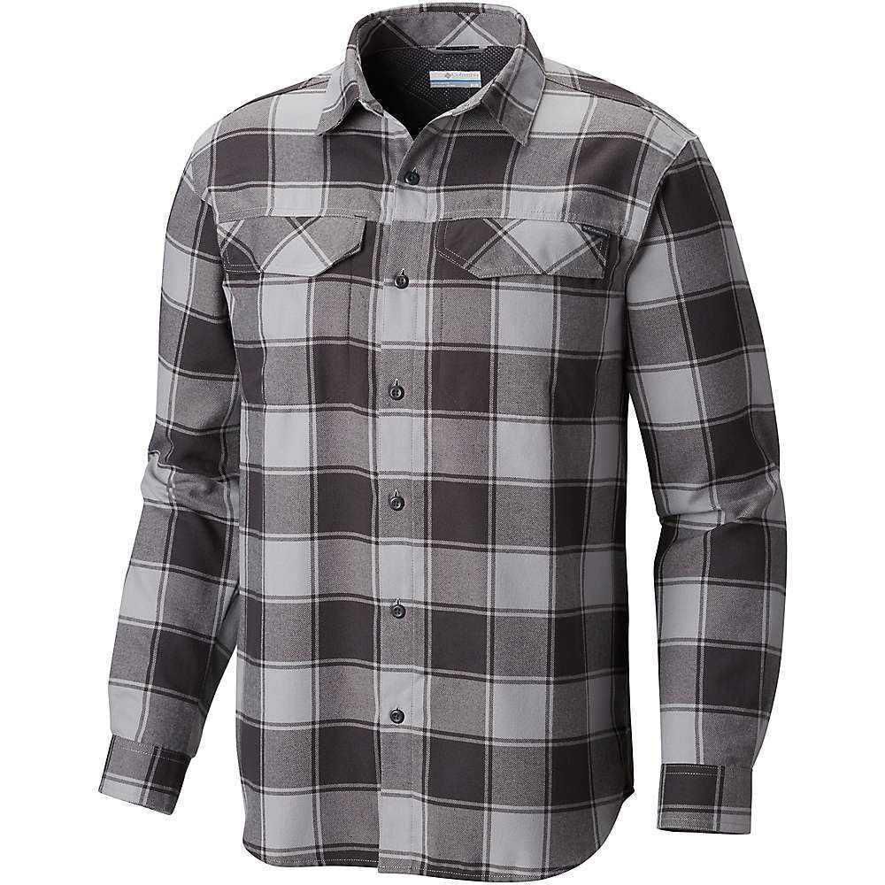 コロンビア Columbia メンズ ハイキング・登山 トップス【Silver Ridge Flannel LS Shirt】Columbia Grey Buffalo Plaid