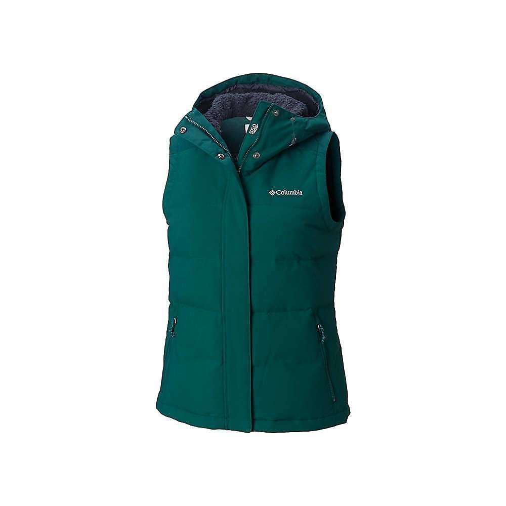 コロンビア Columbia レディース トップス ベスト・ジレ【Winter Challenger Hooded Vest】Dark Ivy