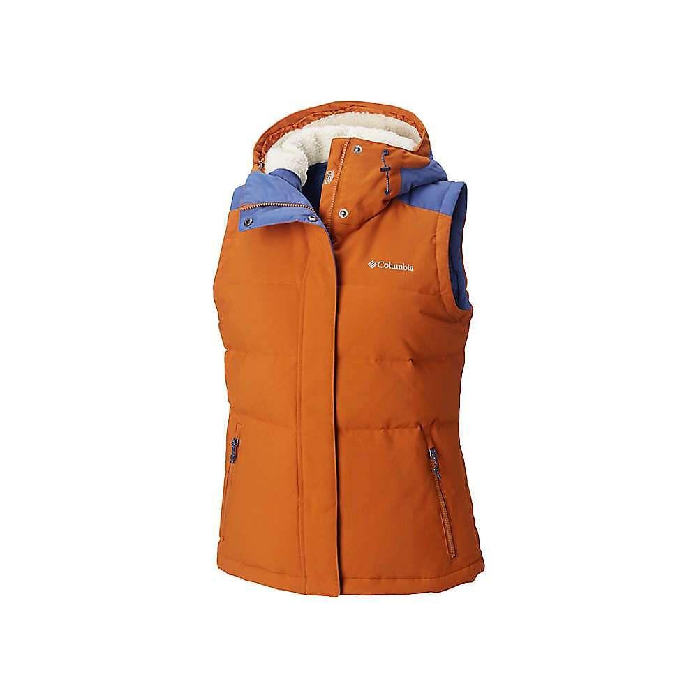 コロンビア Columbia レディース トップス ベスト・ジレ【Winter Challenger Hooded Vest】Bright Copper / Eve