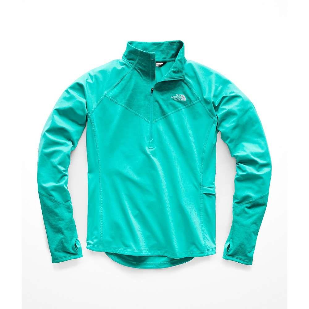 ザ ノースフェイス The North Face レディース ランニング・ウォーキング トップス【Winter Warm 1/2 Zip Pullover】Kokomo Green