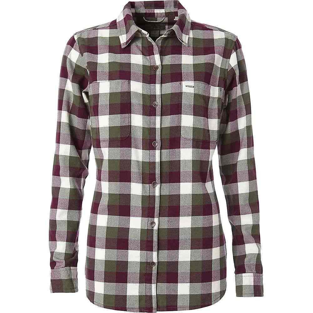 ロイヤルロビンズ Royal Robbins レディース ハイキング・登山 トップス【Lieback Flannel LS Shirt】Bayleaf