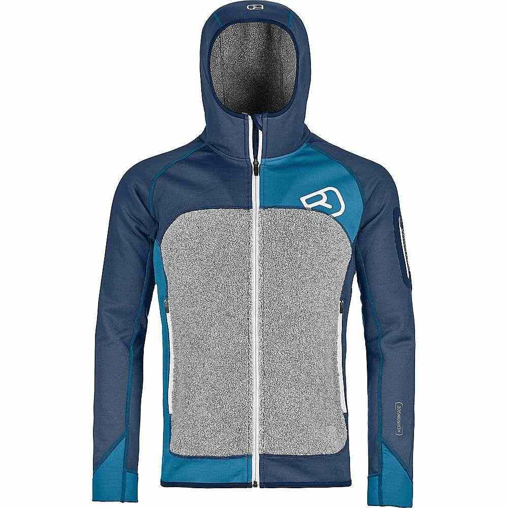 オルトボックス Ortovox メンズ ハイキング・登山 トップス【Fleece Plus Hoody】Night Blue