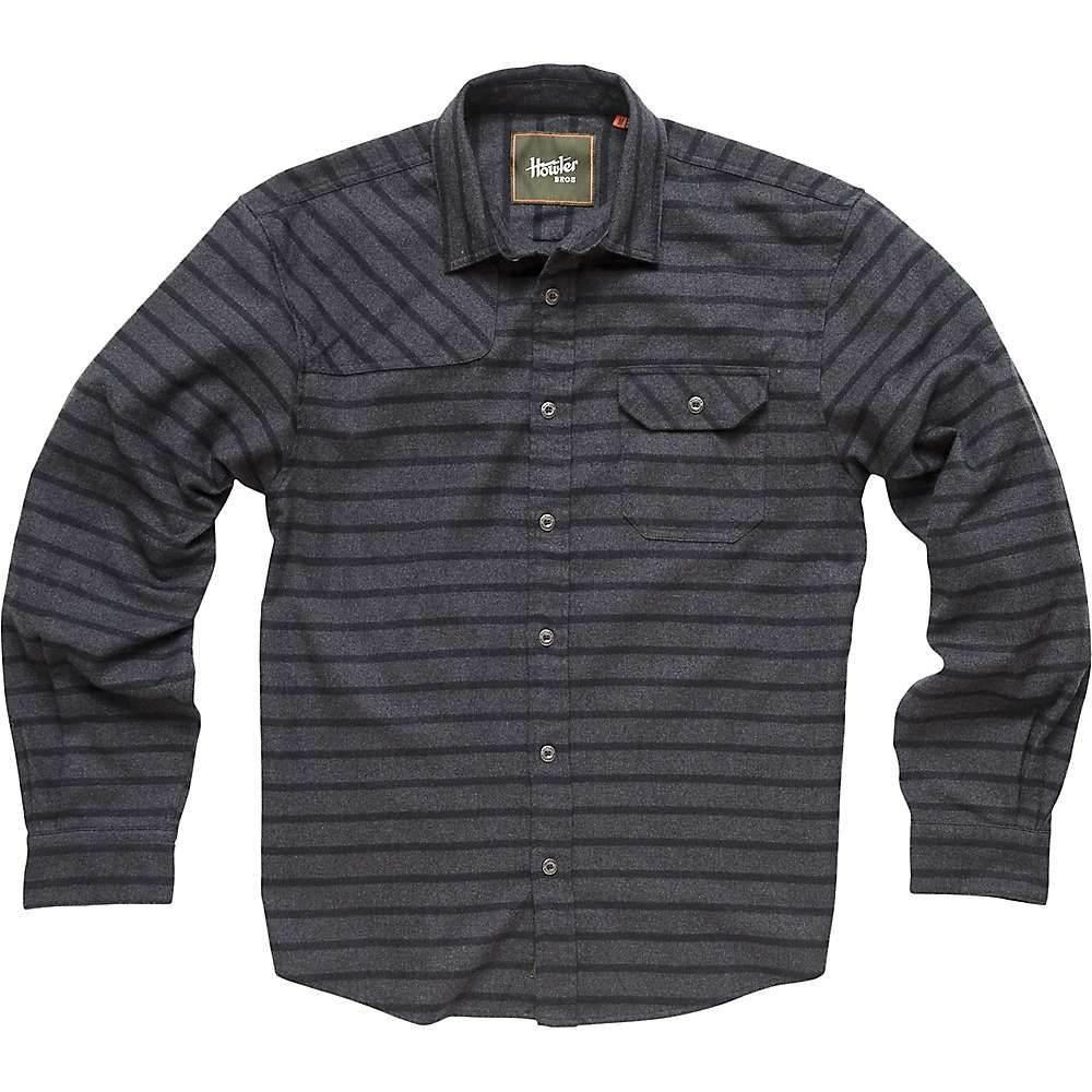 ホウラーブラザーズ Howler Brothers メンズ ハイキング・登山 トップス【Howler Bros Harker's Flannel Shirt】Skyline Stripe / Charcoal