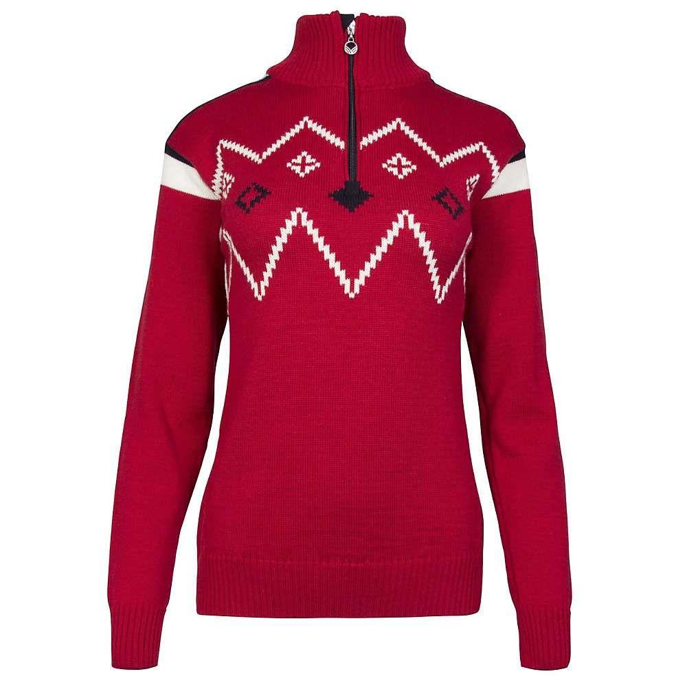 ダーレ オブ ノルウェイ Dale of Norway レディース ハイキング・登山 トップス【Dale Of Norway Seefeld Feminine Sweater】Raspberry / Navy / Off White