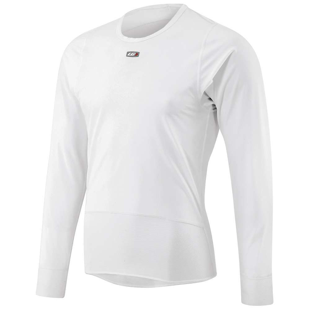 ルイガノ Louis Garneau メンズ 自転車 トップス【SF-2 Plastron Long Sleeve Top】White