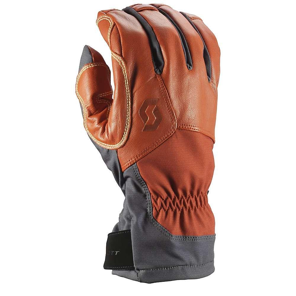 スコット Scott USA ユニセックス スキー・スノーボード グローブ【Explorair Tech Glove】Dark Grey / Burnt Orange