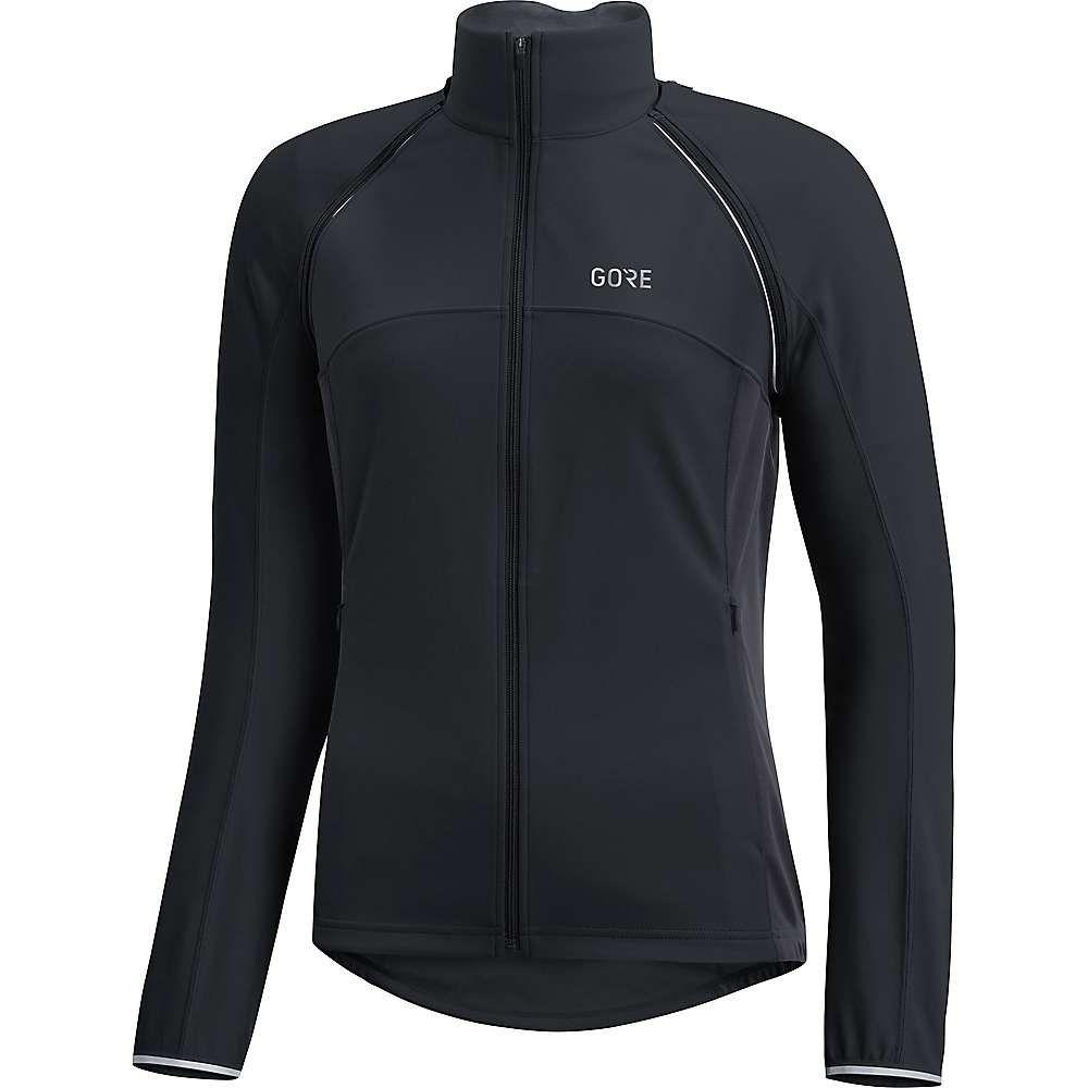 ゴアウェア Gore Wear レディース 自転車 アウター【Gore C3 Gore Windstopper Phantom Zip Off Jacket】Black / Terra Grey