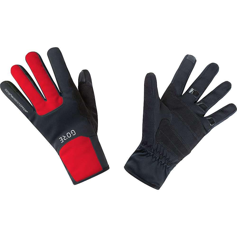 ゴアウェア Gore Wear メンズ 自転車 グローブ【M Gore Windstopper Thermo Glove】Black / Red