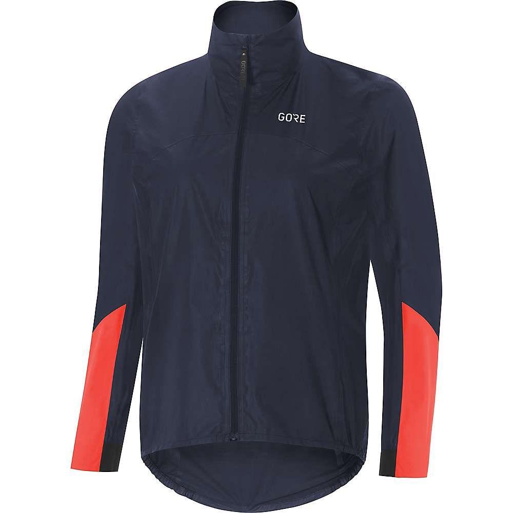 ゴアウェア Gore Wear レディース 自転車 アウター【Gore C7 GTX Shakedry Viz Jacket】Storm Blue / Lumi Orange