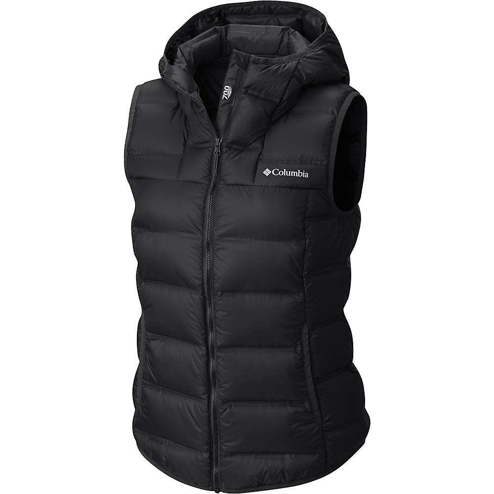 コロンビア Columbia レディース トップス ベスト・ジレ【Explorer Falls Hooded Vest】Black