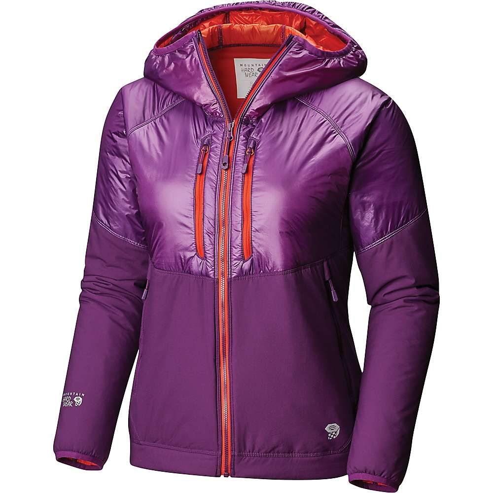 マウンテンハードウェア Mountain Hardwear レディース スキー・スノーボード アウター【Aosta Hooded Jacket】Cosmos Purple