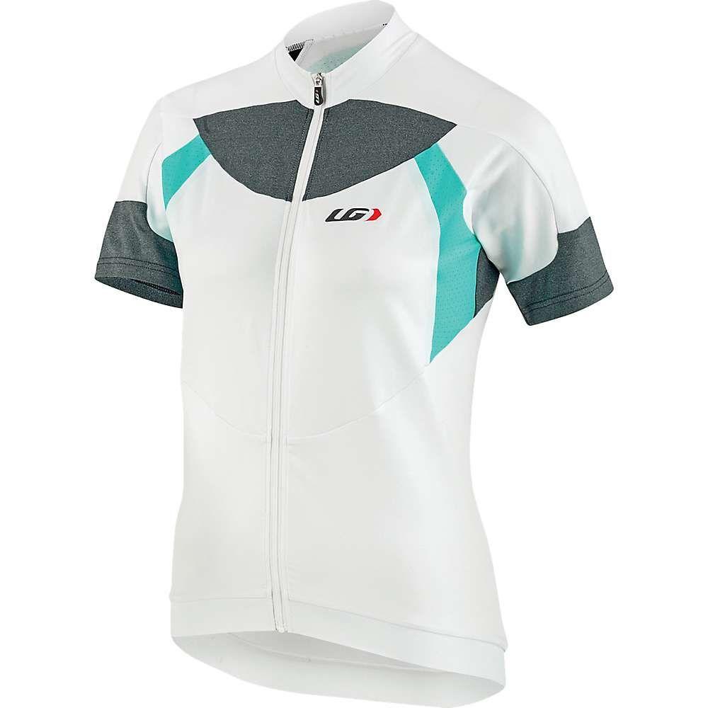 ルイガノ Louis Garneau レディース 自転車 トップス【Icefit Jersey】White / Green