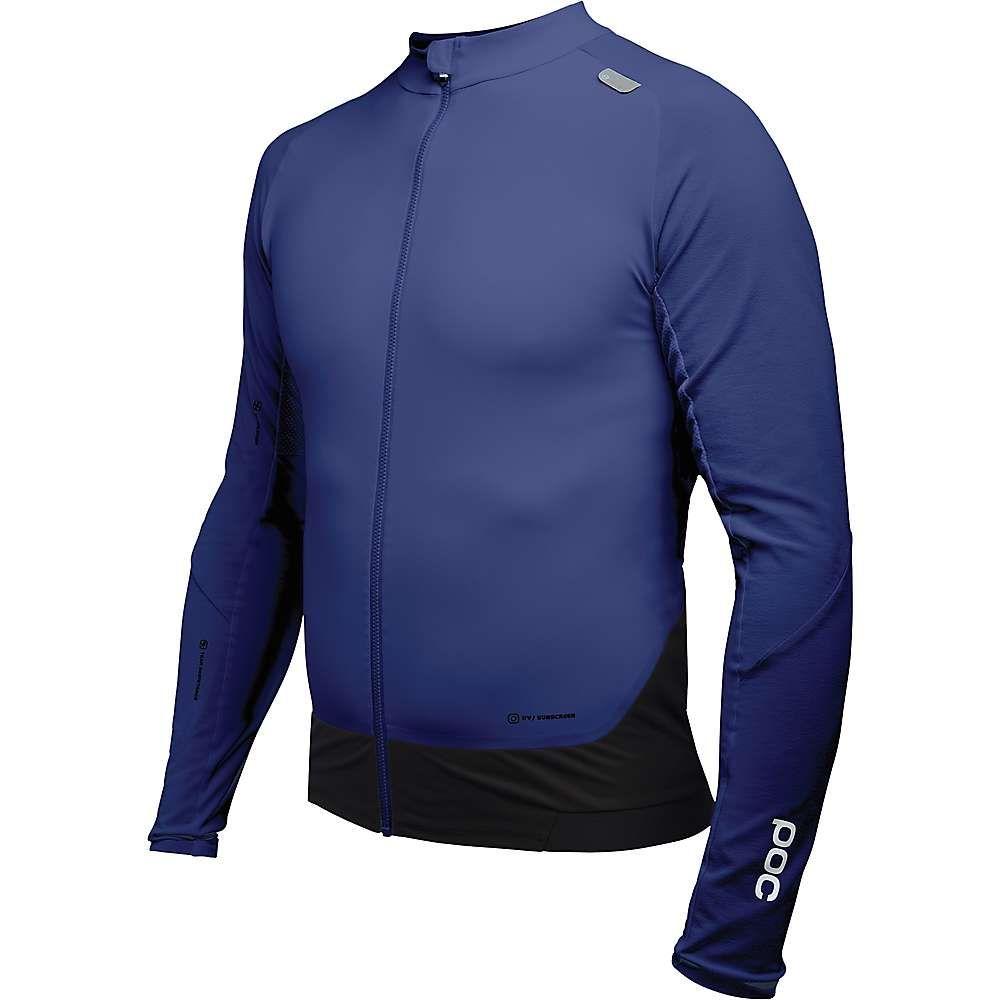 ピーオーシー POC Sports メンズ 自転車 トップス【Resistance Pro XC Zip Jersey】Boron Blue