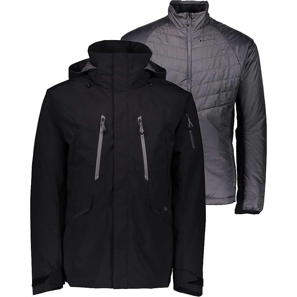 オバマイヤー Obermeyer メンズ スキー・スノーボード アウター【Troika System Jacket】Black