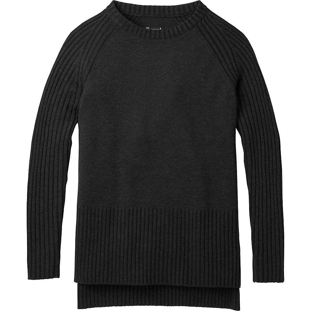 スマートウール Smartwool レディース ハイキング・登山 トップス【Ripple Creek Tunic Sweater】Charcoal Heather