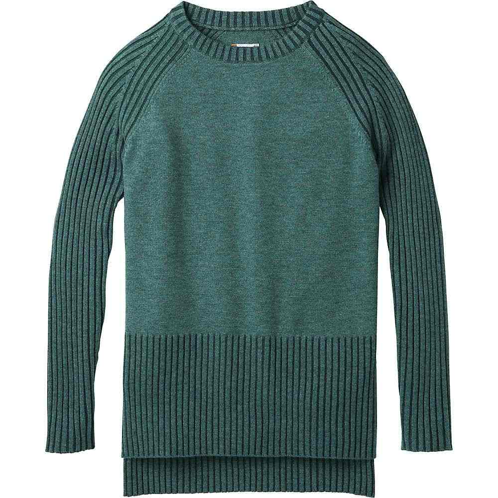 スマートウール Smartwool レディース ハイキング・登山 トップス【Ripple Creek Tunic Sweater】Mediterranean Green Heather