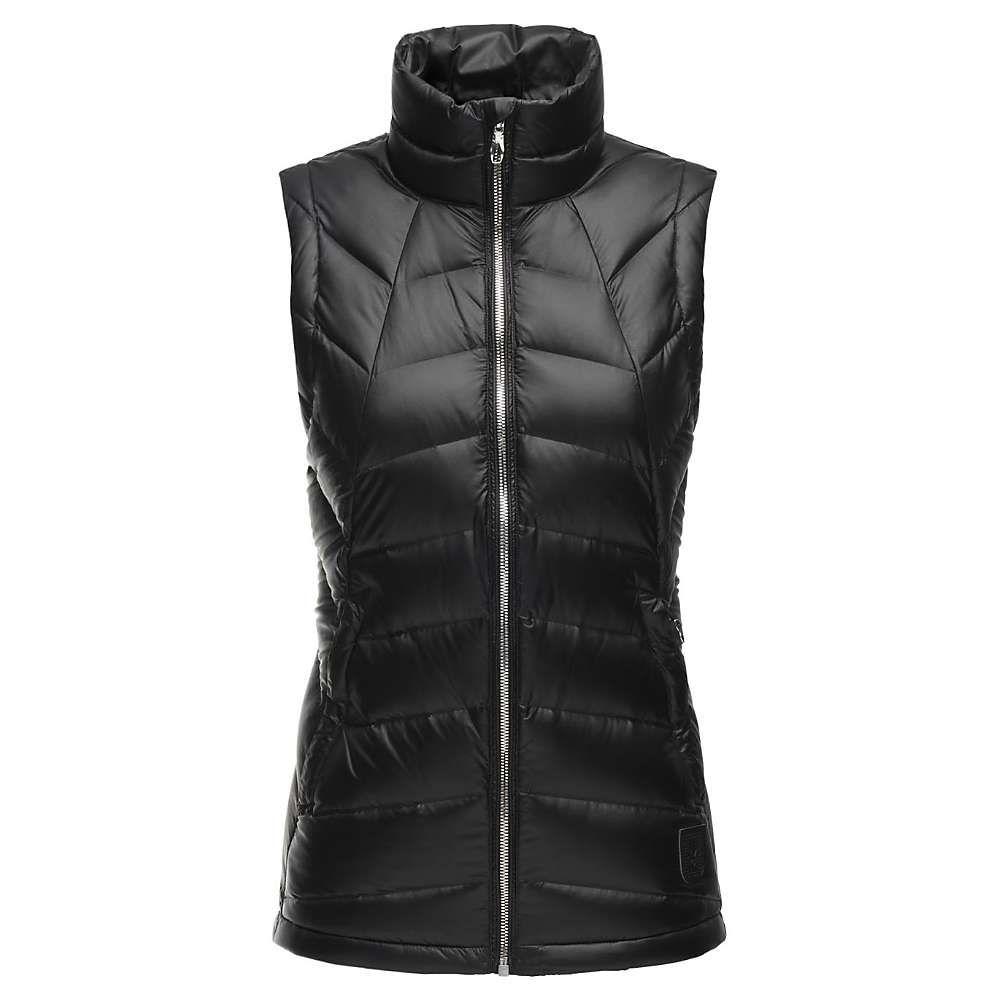 スパイダー Spyder レディース トップス ベスト・ジレ【Syrround Down Vest】Black / Black