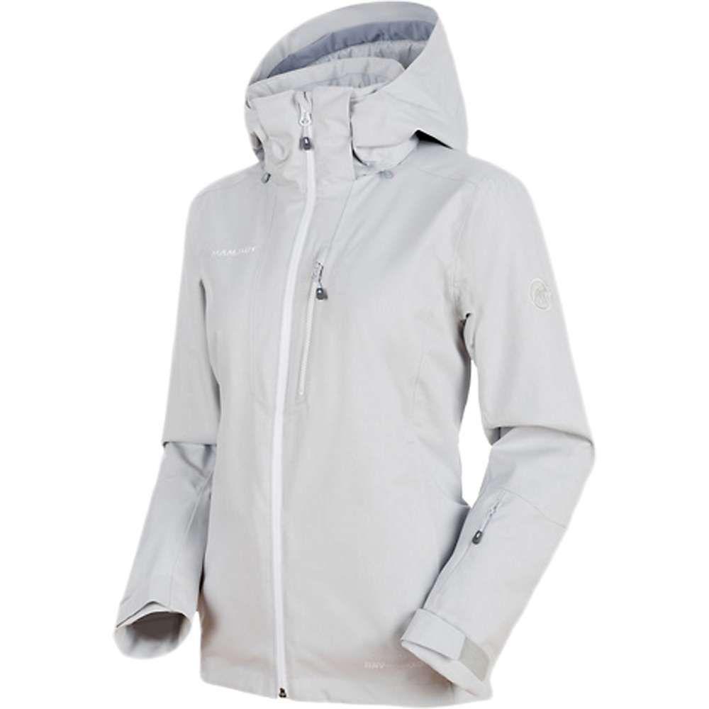 マムート Mammut レディース スキー・スノーボード アウター【Stoney HS Thermo Jacket】Marble Melange / Marble