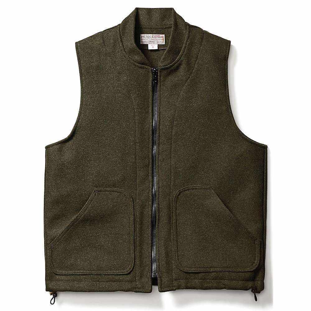 フィルソン Filson メンズ 釣り・フィッシング トップス【Wool Vest Liner】Forest Green