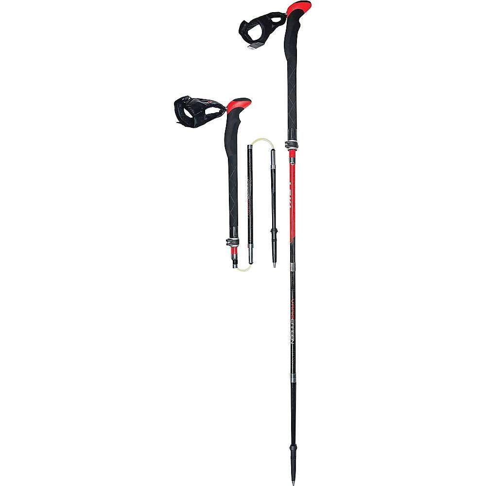 レキ Leki ユニセックス ハイキング・登山【Tourstick Vario Carbon V Backcountry Poles】Red / Black