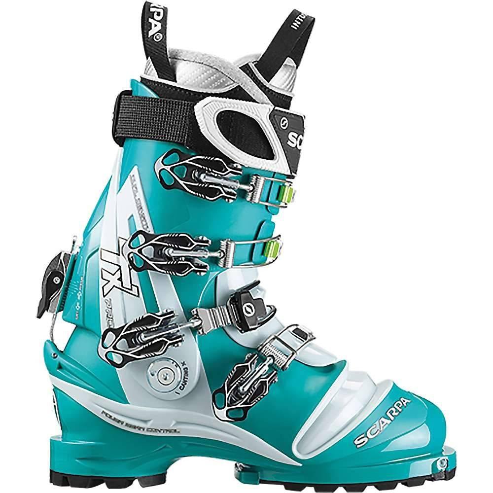 スカルパ Scarpa レディース スキー・スノーボード シューズ・靴【TX Pro Boot】Emerald / Ice Blue