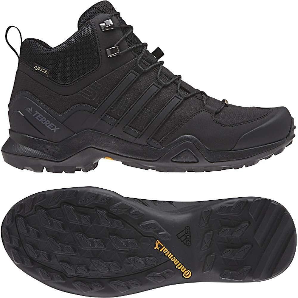 アディダス Adidas メンズ ハイキング・登山 シューズ・靴【Terrex Swift R2 Mid GTX Shoe】Black / Black / Black