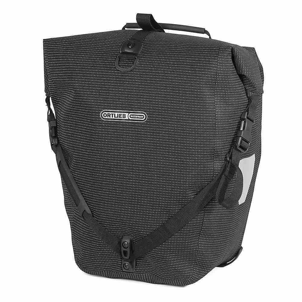 オートリービー Ortlieb ユニセックス 自転車【Back Roller High Visibility Pannier Bag】Black Reflective
