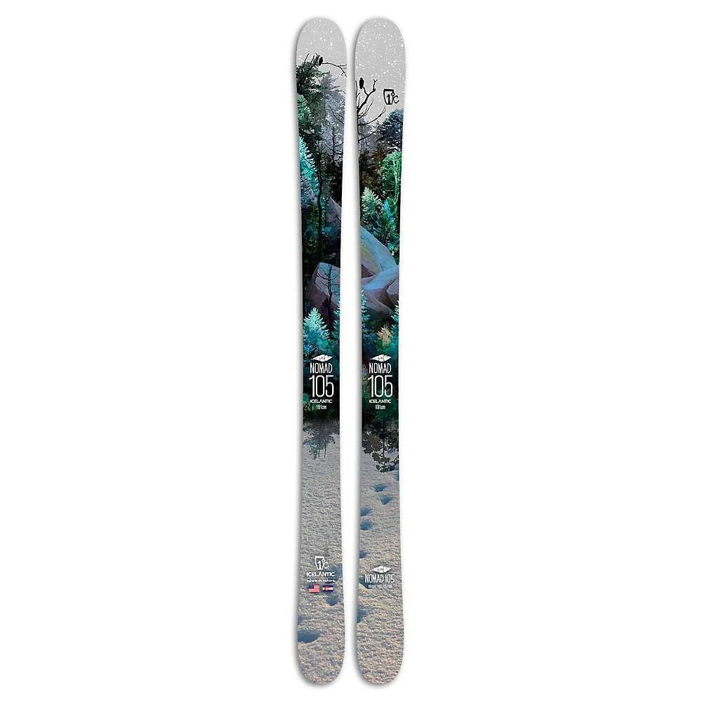 アイスランティック Icelantic メンズ スキー・スノーボード ボード・板【Nomad 105 Lite Skis】Black Multi