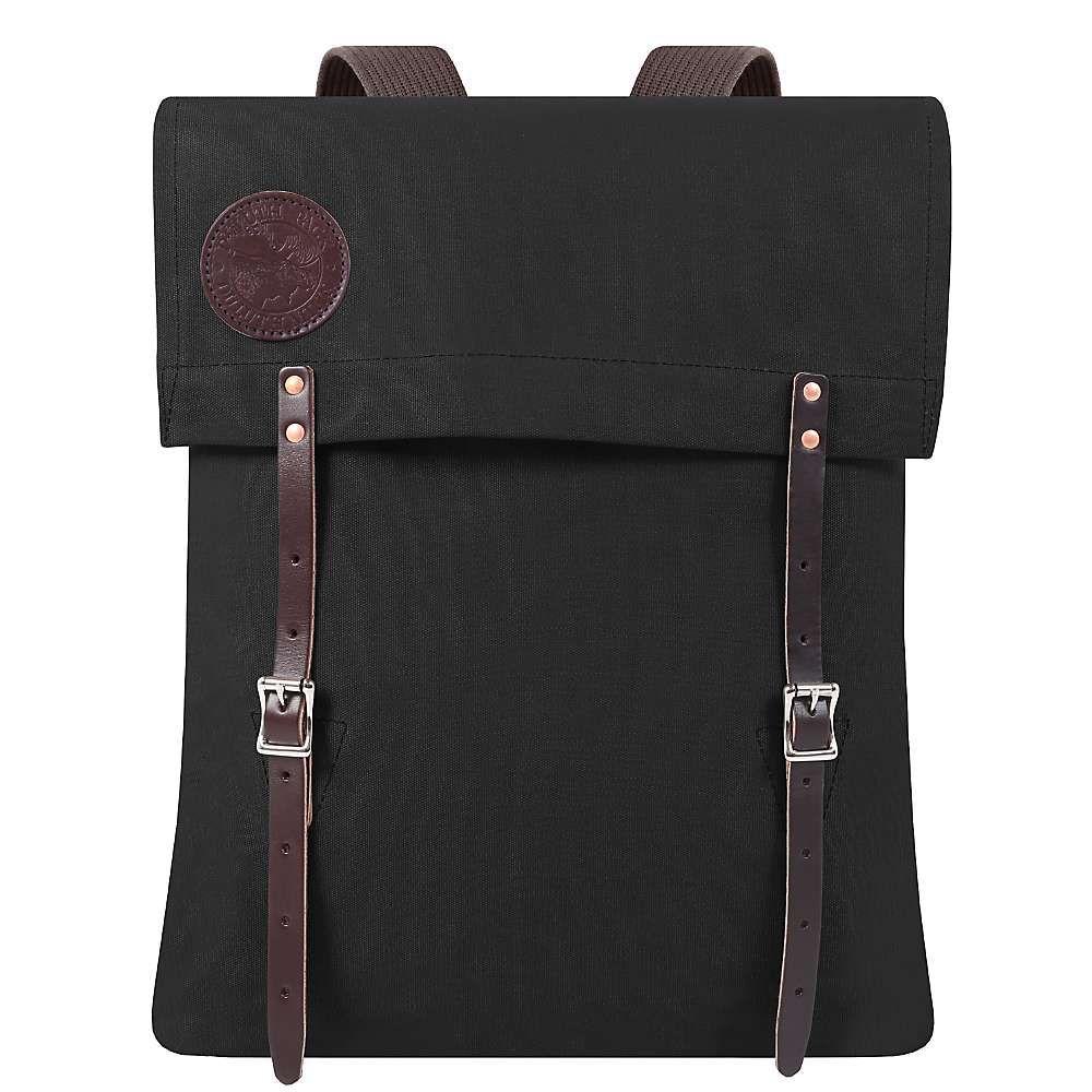 ダルースパック Duluth Pack ユニセックス バッグ バックパック・リュック【#51 Utility Pack】Black