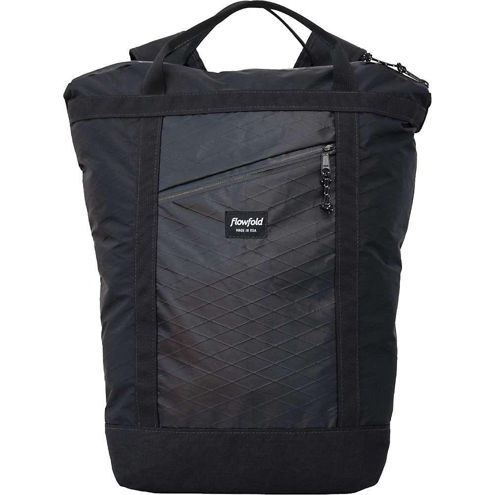 フローフォールド Flowfold ユニセックス バッグ バックパック・リュック【Denizen Limited Tote Backpack】Jet Black