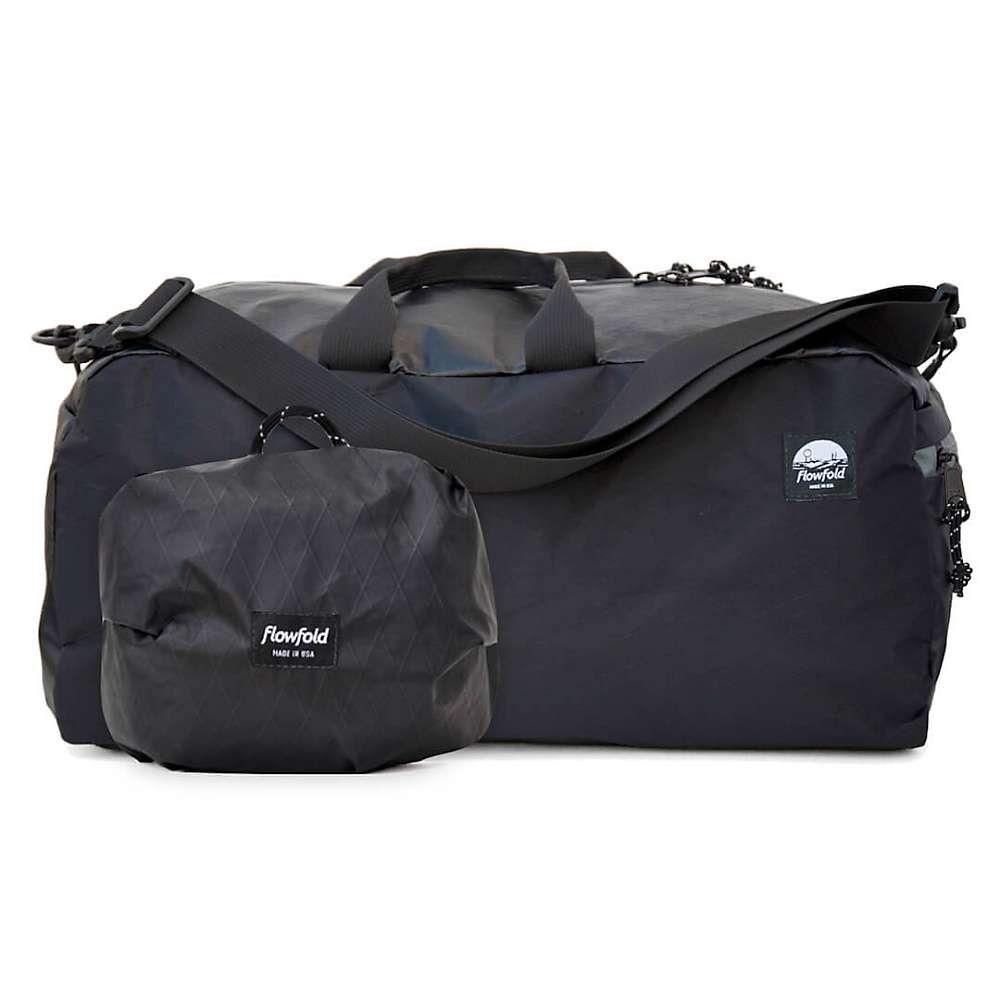 フローフォールド Flowfold ユニセックス バッグ ボストンバッグ・ダッフルバッグ【Nomad Duffle Bag】Jet Black