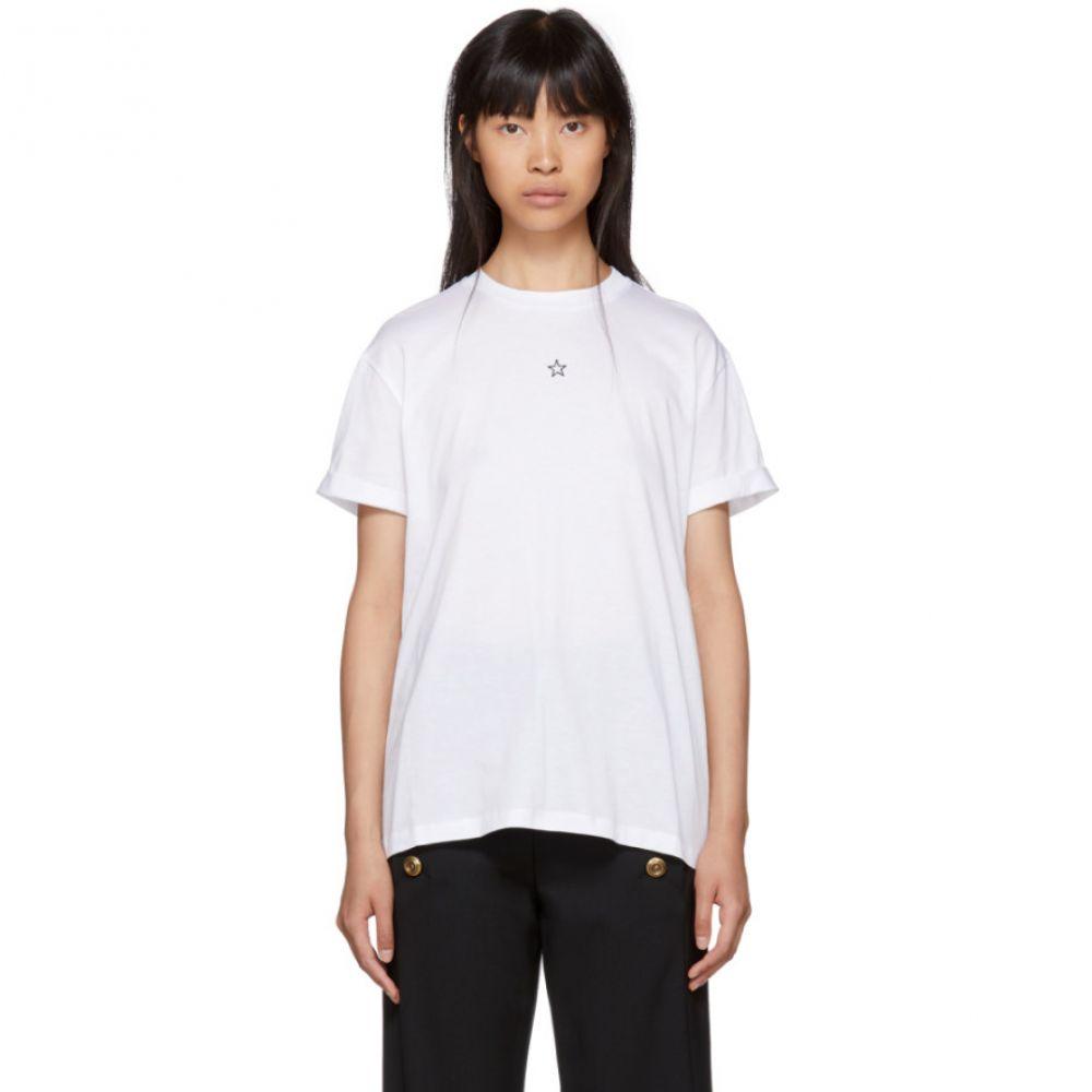 ステラ マッカートニー レディース トップス Tシャツ【White Mini Star T-Shirt】
