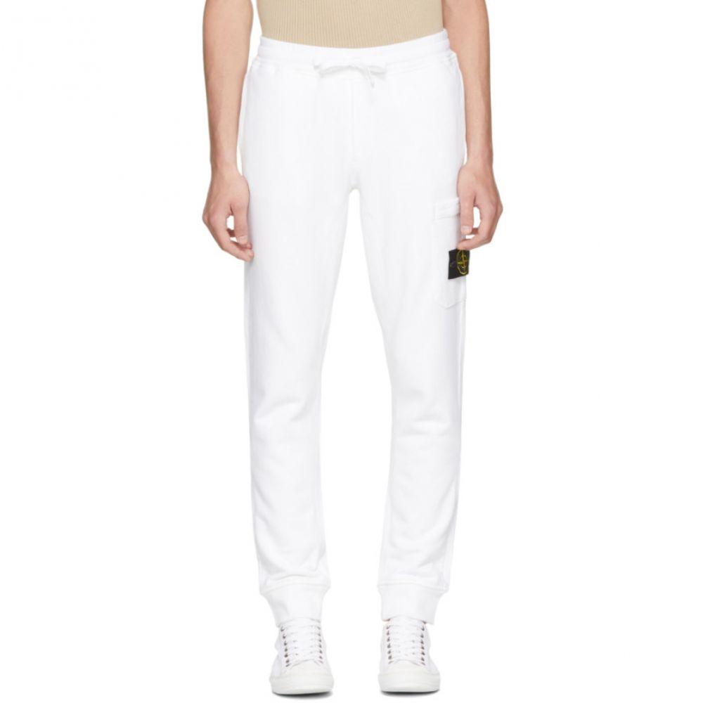 ストーンアイランド メンズ ボトムス・パンツ スウェット・ジャージ【White Logo Badge Lounge Pants】