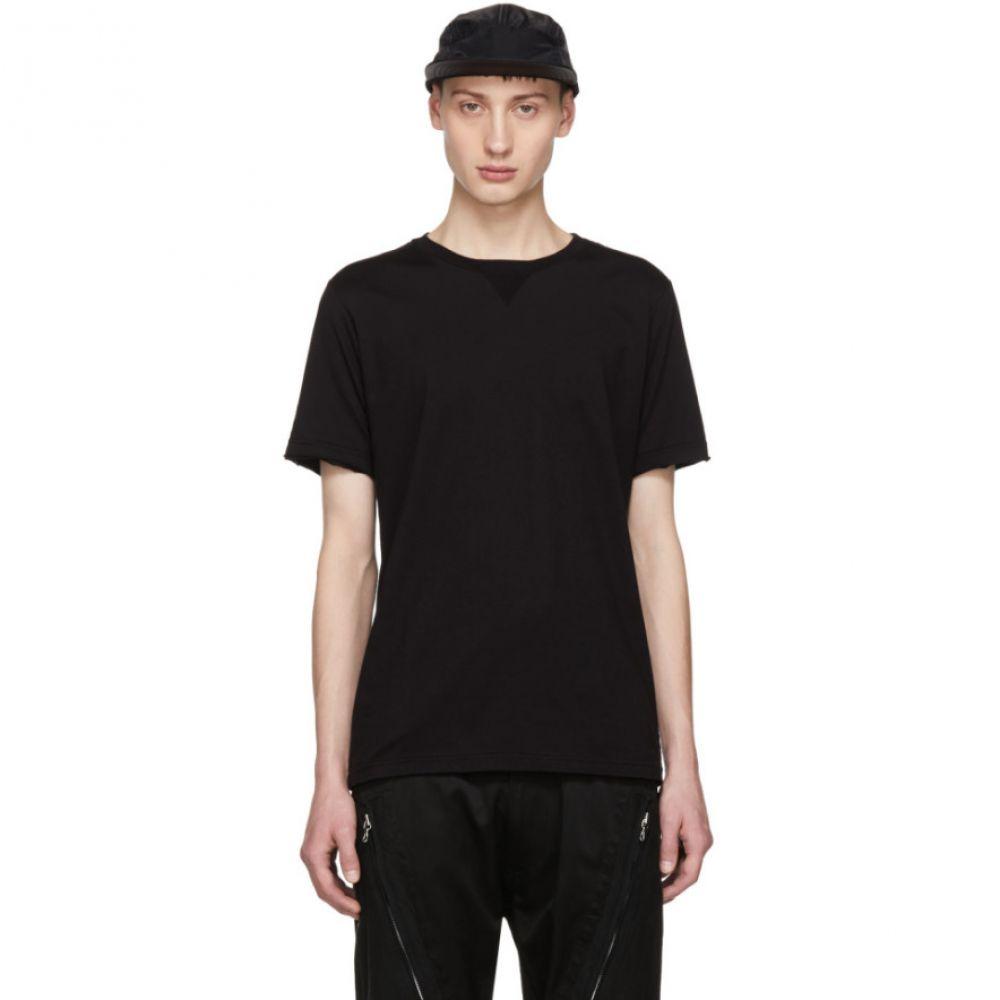タカヒロミヤシタザソロイスト メンズ トップス Tシャツ【Black Crewneck T-Shirt】