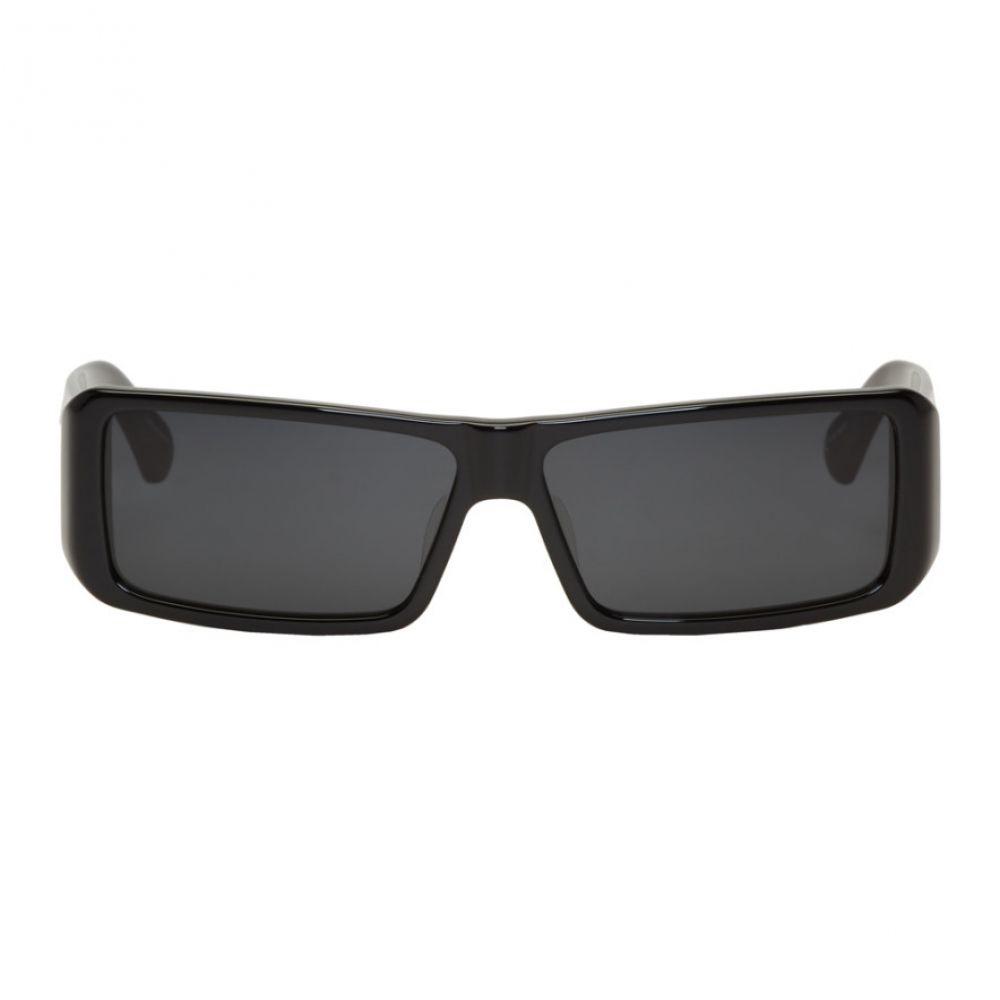 ドリス ヴァン ノッテン レディース メガネ・サングラス【Black & Grey Linda Farrow Edition 157 C1 Sunglasses】