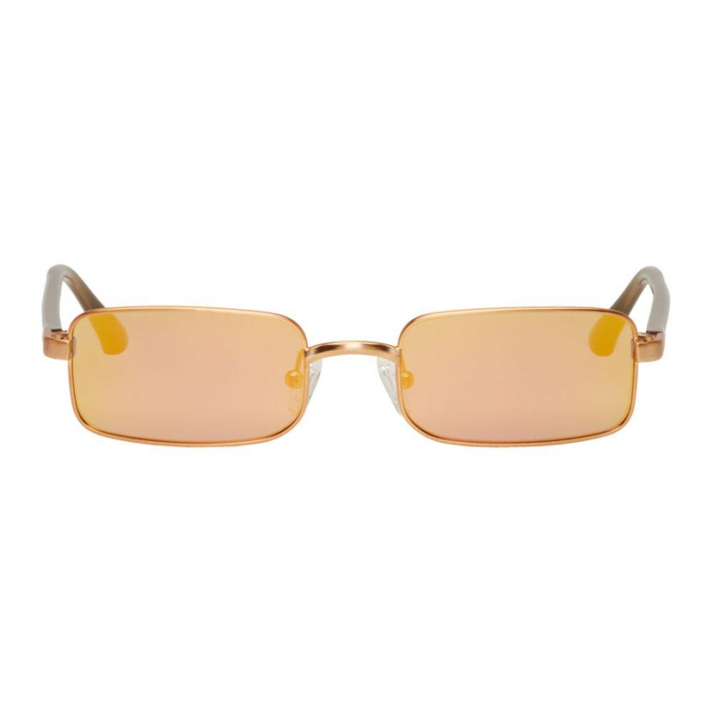 ドリス ヴァン ノッテン レディース メガネ・サングラス【Gold Linda Farrow Edition 139 C4 Sunglasses】