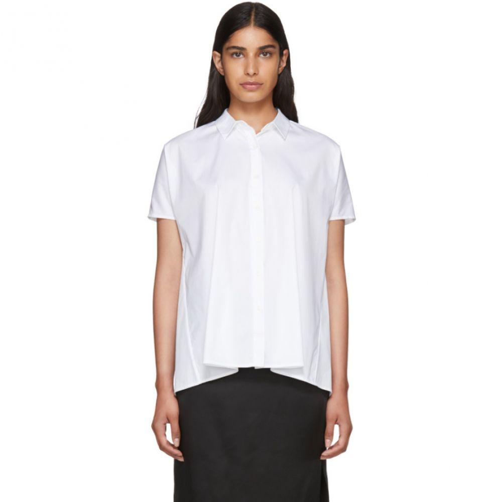 シックススリーナインセブン レディース トップス ブラウス・シャツ【White Trapeze Shirt】