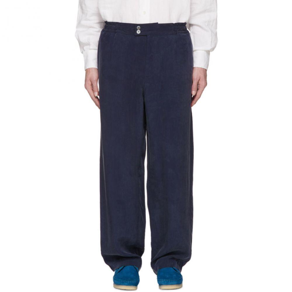 アワーレガシー メンズ ボトムス・パンツ【Blue Cocktail Drape Trousers】