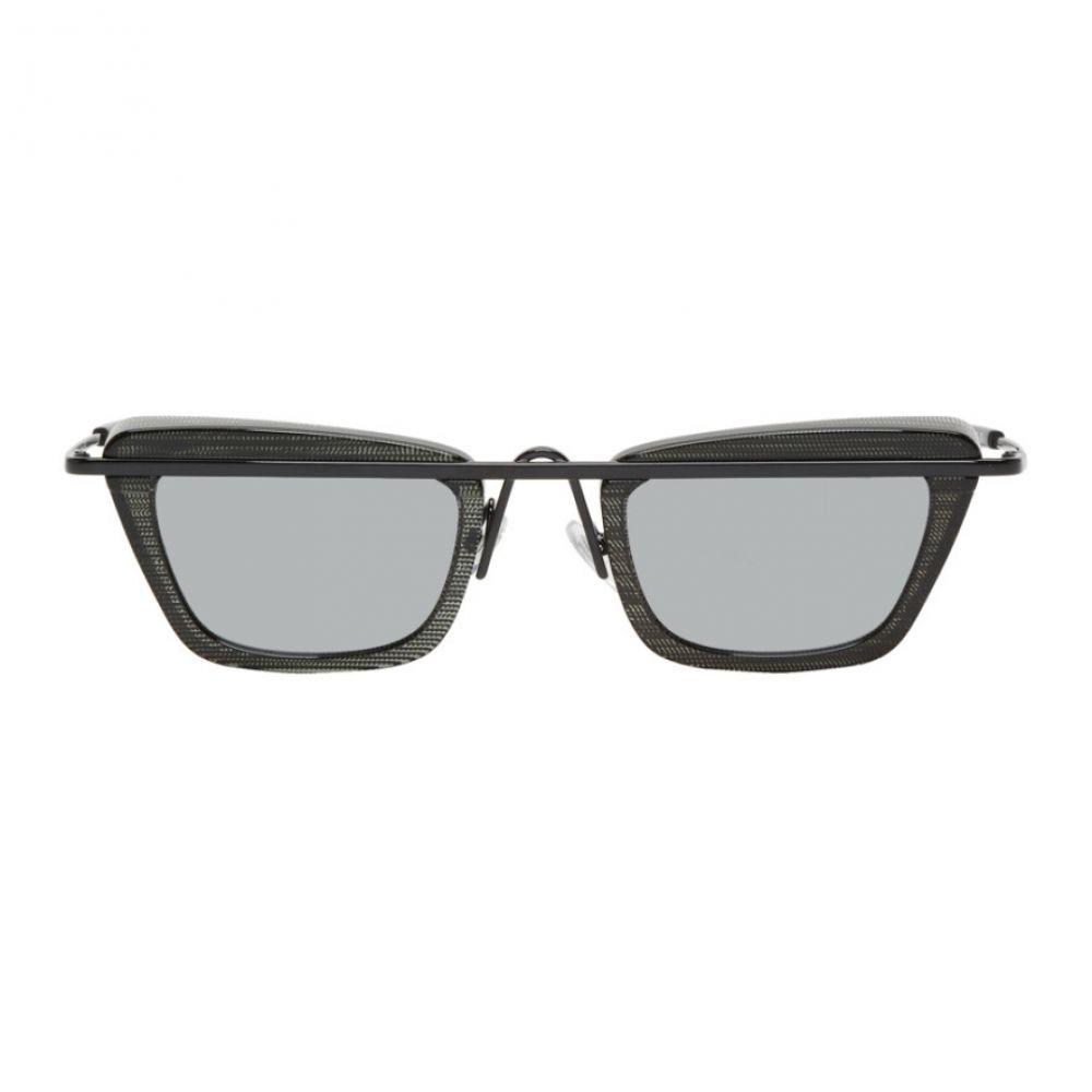 オリバーピープルズ メンズ メガネ・サングラス【Black & Grey Tres Sunglasses】
