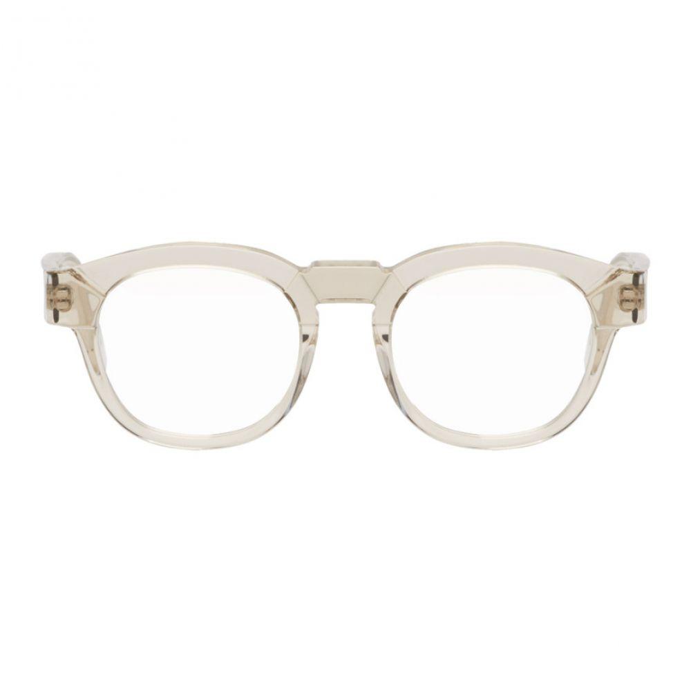 クボラム メンズ メガネ・サングラス【Transparent K17 VT Glasses】
