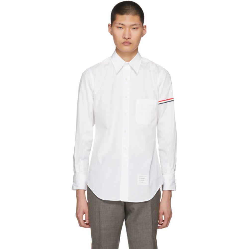 トム ブラウン メンズ トップス シャツ【White Classic Shirt】