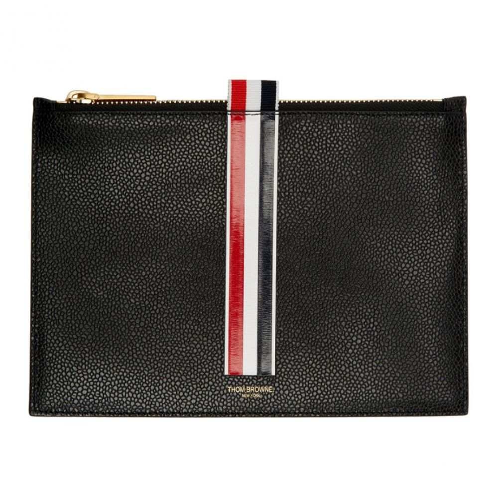 トム ブラウン メンズ 財布【Black Large Coin Pouch】