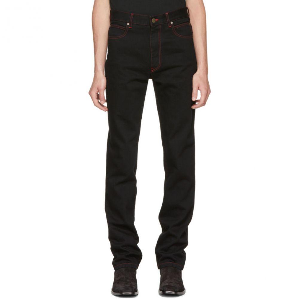 カルバンクライン メンズ ボトムス・パンツ ジーンズ・デニム【Black Dennis Hopper Patch Jeans】