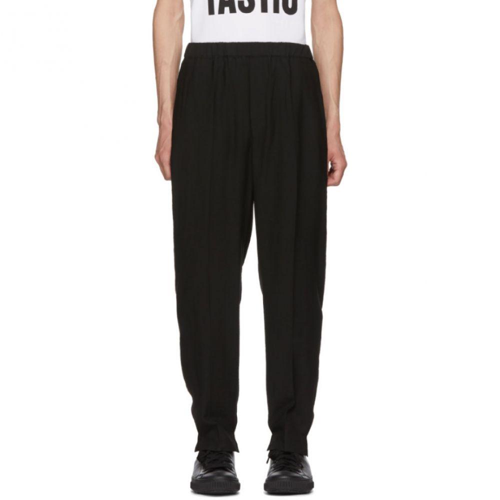 ニール バレット メンズ ボトムス・パンツ【Black Split Cuff Trousers】