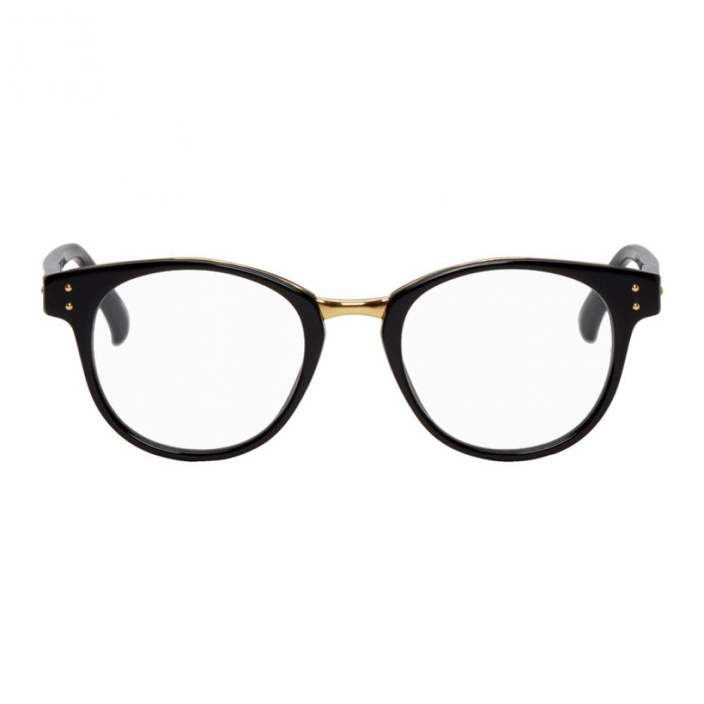 リンダ ファロー メンズ メガネ・サングラス【Black & Gold 581 C7 Glasses】