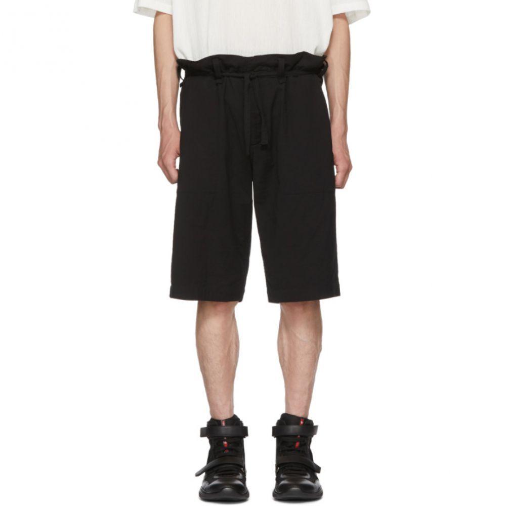 イッセイ ミヤケ メンズ ボトムス・パンツ ショートパンツ【Black Long DFC-H Shorts】
